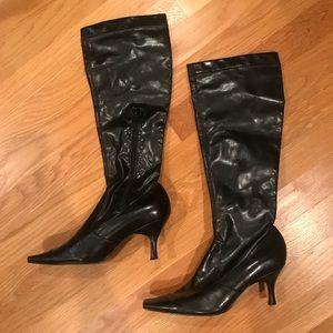 Bandolino Knee High Black Boots